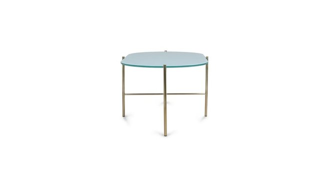 Silicus Oblong Coffee Table Blue
