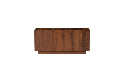 Article Solae Matte Storage Module Walnut