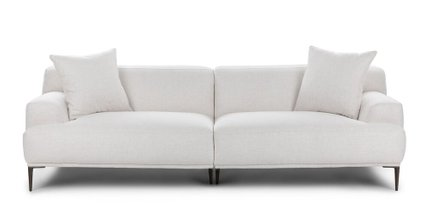Abisko Modern Contemporary Sofa White