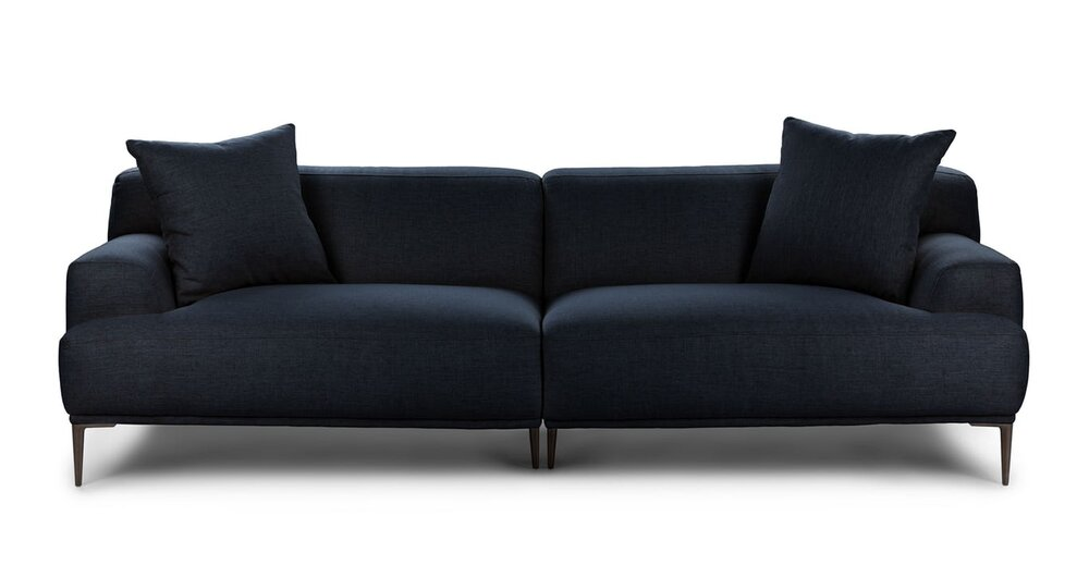 Abisko Modern Contemporary Sofa Blue