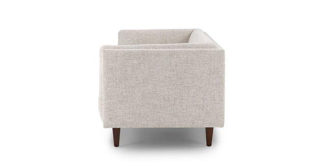 Cirrus Mid-Century Modern Sofa Birch Ivory