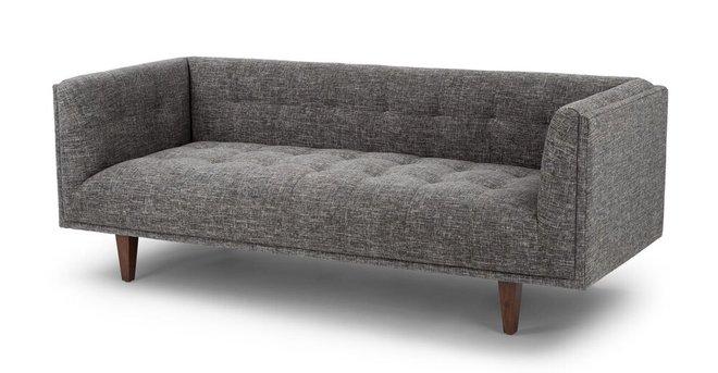 Cirrus Mid-Century Modern Sofa Gray