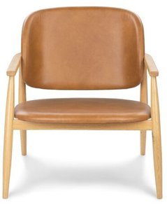 Article Levo Modern Lounge Chair Toscana Tan