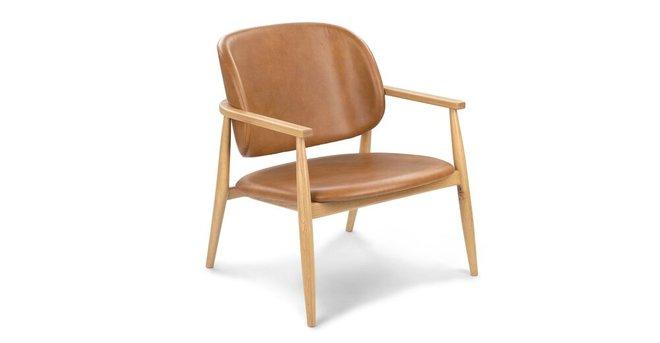 Article Levo Modern Lounge Chair Toscana Tan