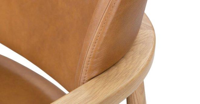 Levo Modern Lounge Chair Toscana Tan