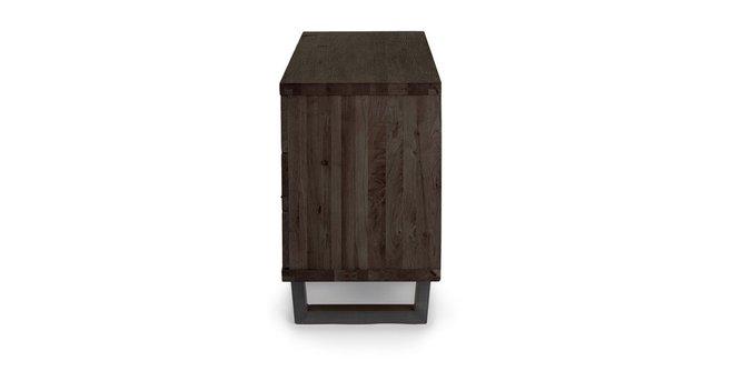 Taiga 6 Drawer Low Double Dresser Smoke