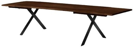 Article Festa Dining Table Extendable Walnut
