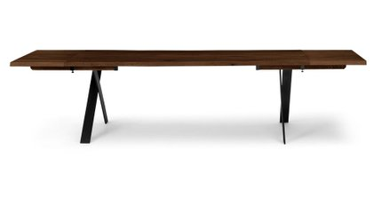 Festa Dining Table Extendable Walnut