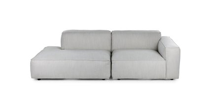 Solae Right Arm Sofa Hush Gray