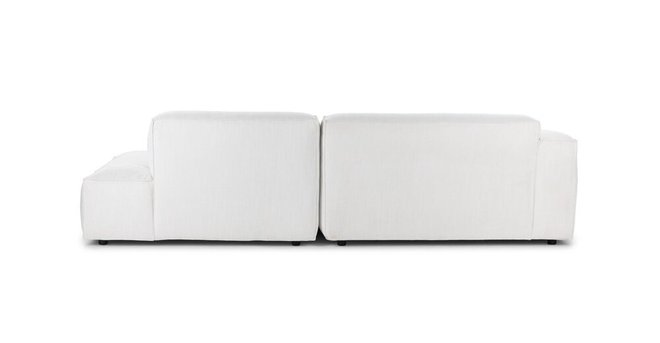 Solae Left Sectional Chill White