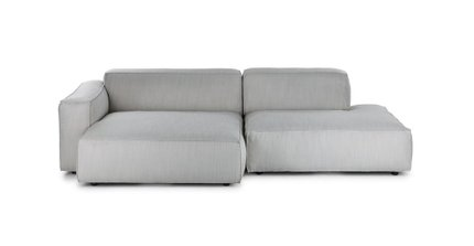 Solae Left Sectional Hush Gray