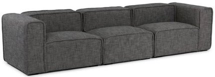 Article Quadra Modern Modular Sofa Carbon Gray