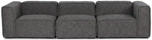 Article Quadra Modern Modular Sofa Carbon Gray
