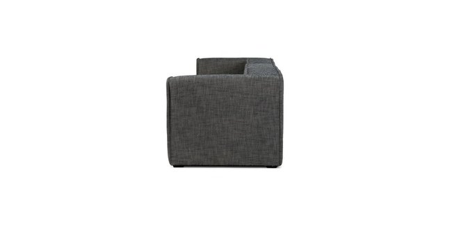 Quadra Modern Modular Sofa Carbon Gray