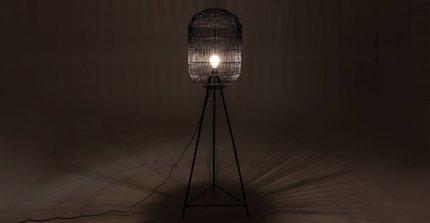 Ochin Floor Lamp Black
