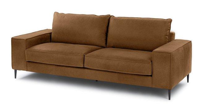 Tora Modern Sofa Tobacco Tan