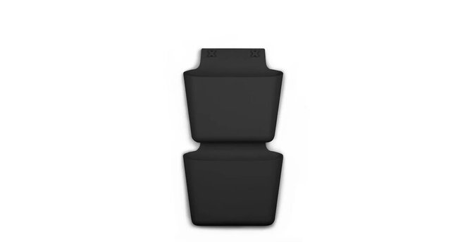 Article Walla Pocket Black (Set of 2)