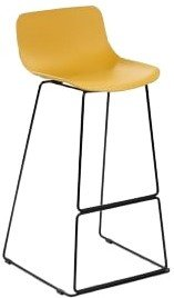 Article Anco Modern Bar Stool Mustard Yellow