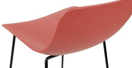 Anco Modern Bar Stool Red