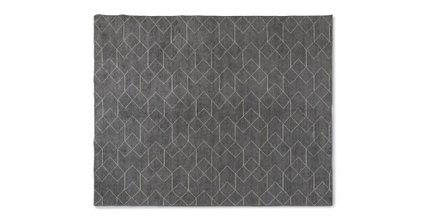 Article Polygon Rug 8 X 10 Basalt Gray