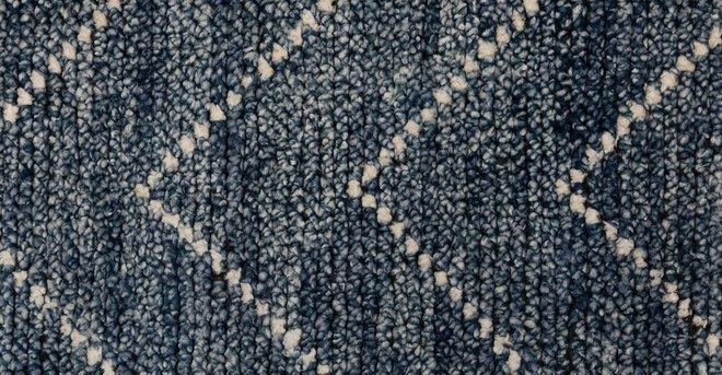 Parallel Rug 8 X 10 Wave Blue