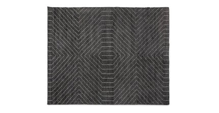 Parallel Rug 8 X 10 Mountain Gray
