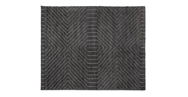 Parallel Rug 8 X 10 Mountain Gray