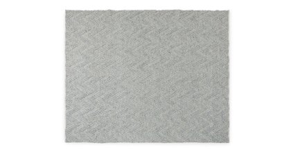 Article Vee Rug 8 X 10 Fog Gray