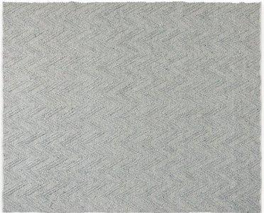 Article Vee Rug 8 X 10 Fog Gray