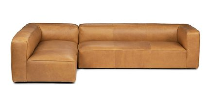 Mello Left Arm Corner Sectional Taos Tan