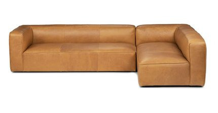 Mello Right Arm Corner Sectional Taos Tan