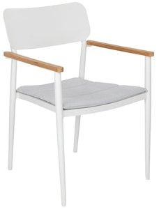 Article Elan Dining Chair White & Cera Gray (Set of 2)