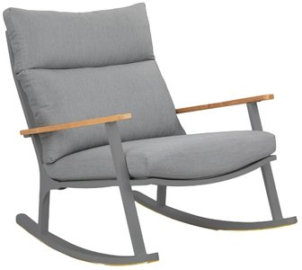 Article Eleya Rocking Chair Stega Gray & Dark Gray