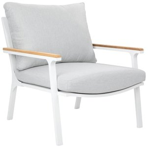 Article Eleya Chair Cera Gray & White