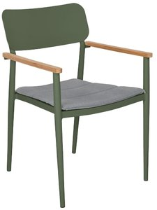 Article Elan Dining Chair Green & Stega Gray (Set of 2)