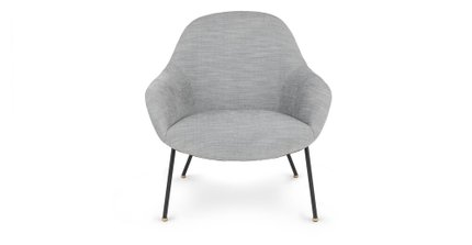 Savary Lounge Chair Gull Gray