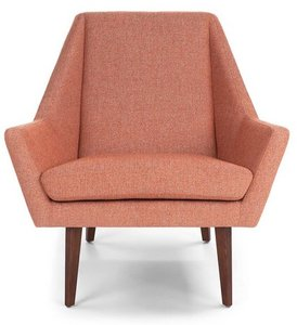 Article Angle Armchair Rosehip Orange