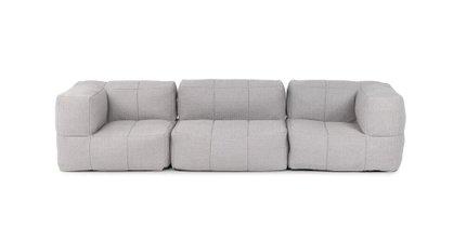 Gios Contemporary Outdoor Modular Sofa Elba Gray