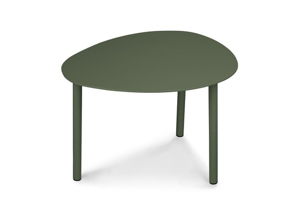 "Article Nebu 22"" Oval Coffee Table Green"