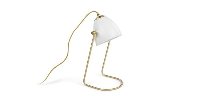 Fila Table Lamp White