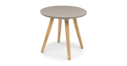 Atra Round Cafe Table Concrete