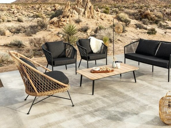 Article Corda Lounge Chair Slate Gray
