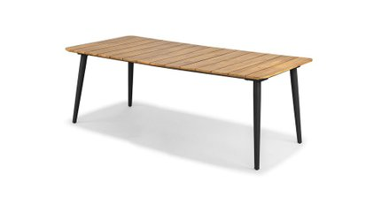 Latta Dining Table For 6 Slate Gray