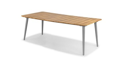 Latta Dining Table For 6 Beach Sand