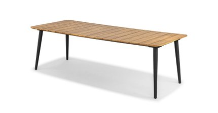 Latta Dining Table For 8 Slate Gray