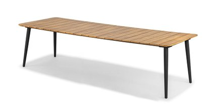 Latta Dining Table For 10 Slate Gray