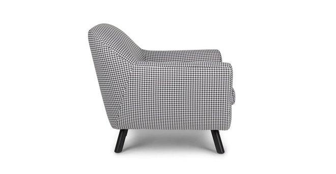 Article Gabriola Lounge Chair Charcoal Ivory