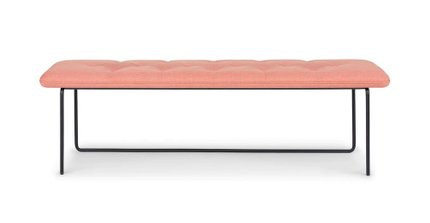 Level Contemporary Bench Soft Coral