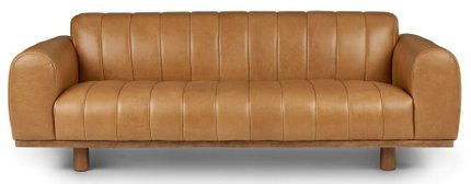 Texada Sofa Taos Tan And Honey Oak