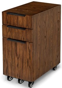 Article Madera File Cabinet Chestnut